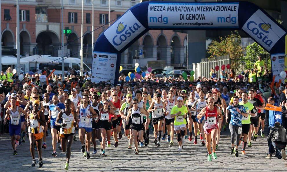 Primo comunicato stampa della 14° edizione de La Mezza di Genova